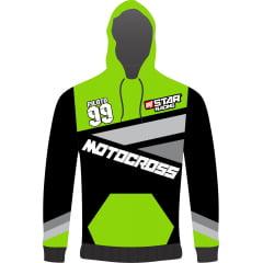 Agasalho estilo Moletom Personalizado Motocross