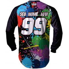 Camisa Trilha, MX, Enduro - MODELO SPLASH