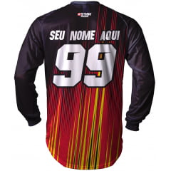 Camisa Trilha, MX, Enduro - POINTED FIRE